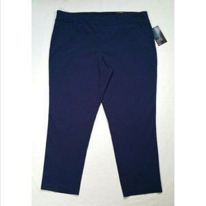 AVENUE Straight Pants Pull-on Super Stretch 3357E1